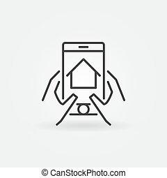 実質, smartphone, を経て, 財産, ファインド