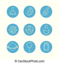 実験室用具, 科学