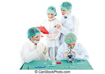 実験室, 人々