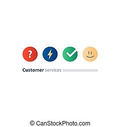 客户, 概念, 反馈, 测验, 服务, 调查