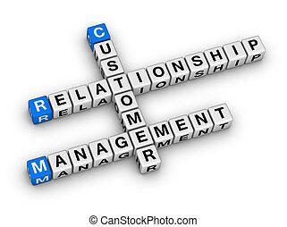 客户, (crm), 管理, 关系