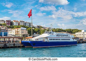 客船, 在, 伊斯坦布爾