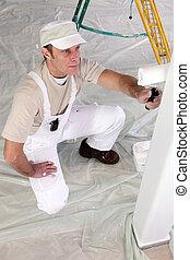 室內裝潢師, repainting, 前面室