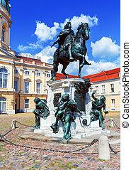 宮殿, ドイツ, charlottenburg, ベルリン