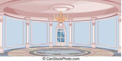 宮殿, ホール