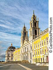 宮殿, ポルトガル, 女子修道会, franciscan, mafra, 国民