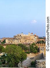 宮殿, 印象的である, 中, インド, maharajah, bikaner, bikaner, 城砦,...