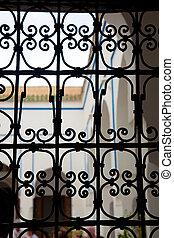 宮殿, bahia, モロッコ, marrakech
