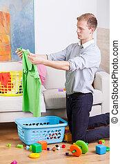 家のクリーニング, 仕事, 人