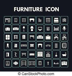 家具, アイコン