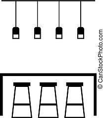 家具, カフェ