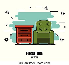 家具, 家に 内部