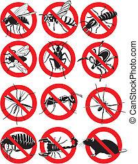 家庭の害虫, 共通, アイコン