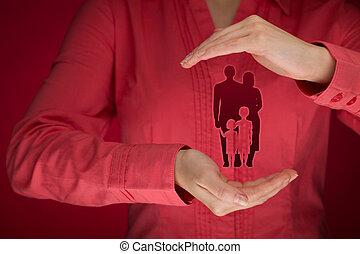 家庭生活, 保険, そして, 戦略