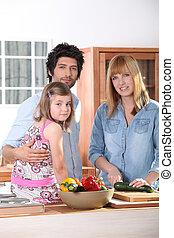 家庭, 厨房