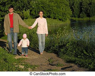 家庭, 在公園