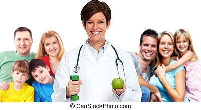 家庭, 醫生。