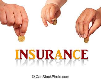 家庭, insurance.