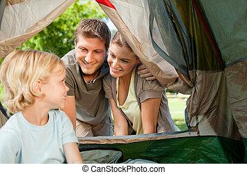 家族のキャンプ, 公園