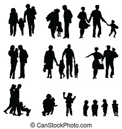 家族のグループ
