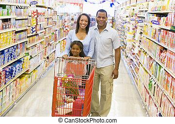 家族のショッピング, スーパーマーケット