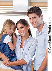 家族の提起, 肖像画