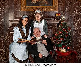 家族の クリスマス