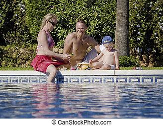 家族の 楽しみ