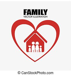 家族, デザイン