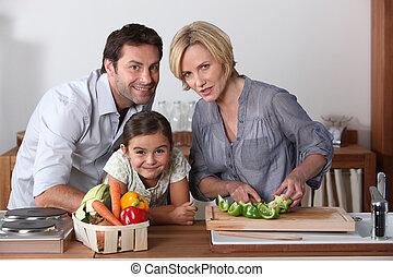 家族, 台所