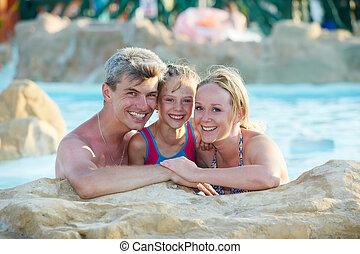 家族, 子と一緒に, ∥において∥, 休日, 休暇