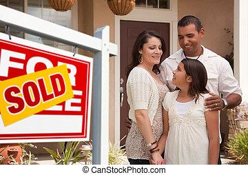 家族, ∥(彼・それ)ら∥, サインを売った, ヒスパニック, 新しい, 前部, 家