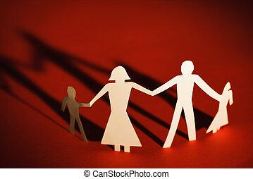 家族, 手を持つ