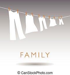 家族, 概念, 抽象的