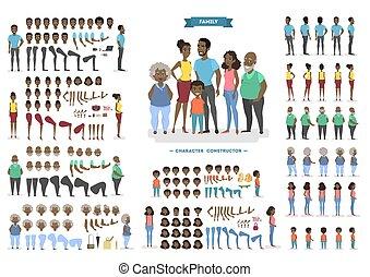 家族, 特徴, セット, ∥ために∥, アニメーション