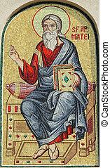 家父長制である, ヨーロッパ, ルーマニア語, 細部, 使徒, matthew, 大聖堂, ファサド,...