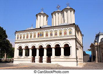 家父長制である, ルーマニア, bucharest, 大聖堂, 正統
