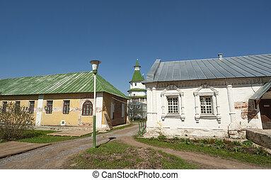 家父長制である, monastery--, 少佐, 1656, 修道院, 正統, (voskresensky, 修道院,...