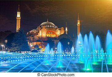 家父長制である, sophia, 正統, 博物館, later, モスク, イスタンブール, hagia,...