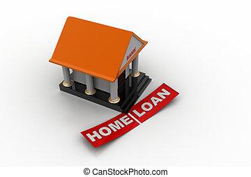 家貸款, 概念