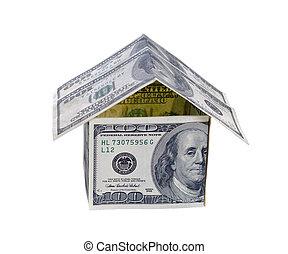 家, お金