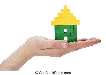家, やし, lego