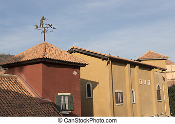 家, スタイル, 部分, イタリア語