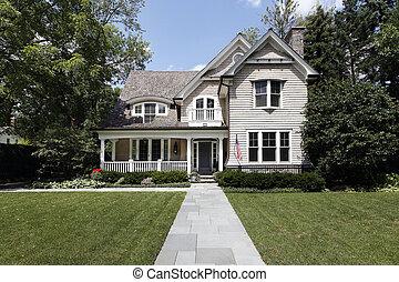 家, ヒマラヤスギ, 贅沢, 屋根