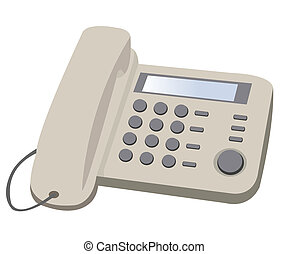 家, ボタン, 電話