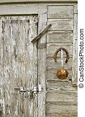 家, ポンプ, 馬蹄, 飾られる, カップ