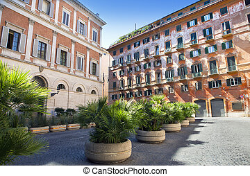 家, ローマ, 古い, 中心