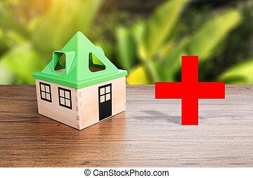 家, 健康, 甘い, 家, ヘルスケア, そして, 薬