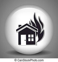 家, 安全, 保険
