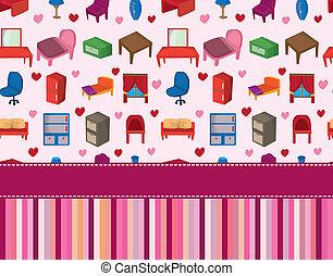 家, 家具, カード